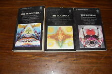 INFERNO PURGATORIO PARADISO THE DIVINE COMEDY 3 PAPERBACKS by Dante Alighieri