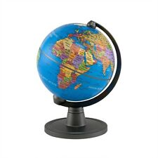 Classic World Globe Model Ocean Maps Mini Children Study Geography Decor Blue