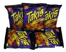 3 Pack Takis Fuego Mexican Mexico Corn Tortilla Hot Chips