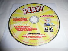 Play! The Ultimate Casual Game Collection - PC DVD Computer game Disc Only E