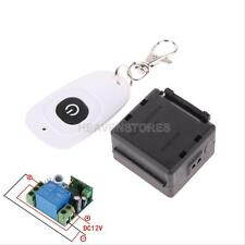 DC 12v 10A Relay 1CH Wireless Remote Control Switch Transmitter+ Receiver Module