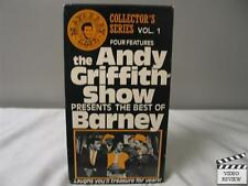 The Andy Griffith Show Collector's Series Vol. 1 - Best of Barney VHS