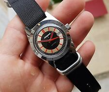 *SUPERBE* ANCIENNE MONTRE PLONGEE SUBMARINE ALL STEEL MECANIQUE vintage DIVER