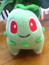 Pokemon Center USA 2005 Chikorita Stuffed Plush Doll Figure Toy