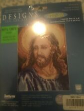 Janlyn Designs Portrait of Christ #023-0254  counted cross stitch carded floss 6