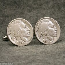 Vintage INDIAN HEAD NICKEL Coin 5 Cents USA New Cufflinks