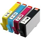 4x Refilled Ink Cartridges w/Chips for HP 564XL (B C Y M) for HP Photosmart 5510