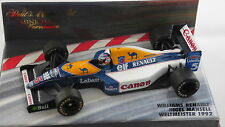 1/43 WILLIAMS RENAULT FW14B NIGEL MANSELL WORLD CHAMPION 1992 BY MINICHAMPS