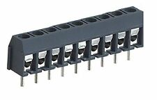 2 * 9 way Screw Terminal PCB connector 9 pin stackable