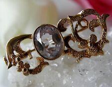 Antike Brosche 583° Gold echter Alexandrit  wunderschön Russland um 1950 B304