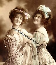 The Esmerelda Sisters, Edwardian Entertaines - Early 1900s -Historic Photo Print
