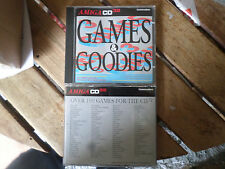 Games & Goodies  100 Games  Amiga CD32 VGC NEW Special Offer