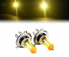 YELLOW XENON H4 100W BULBS TO FIT Volvo 440 MODELS