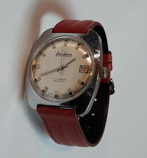 Vintage OMIKRON Silver Dial Hand Winding cal. 96-4 Swiss Wristwatch