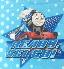 Thomas and Friends Sheet Set Full Size Tank Engine Blue Bed Sheets James Henry