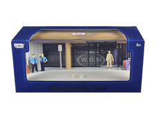 """AIRPORT SCENE"" DIORAMA PUT YOUR OWN CAR INSIDE 1/43 MOTORMAX 73864 N"