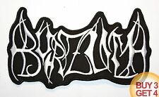 1BURZUM OLD LOGO WT BACK PATCH,BUY3 GET4,TAAKE,EMPEROR,MAYHEM,BLACK METAL,TAAKE