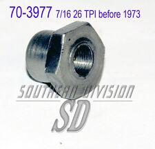Triumph 70-3977 E3977 26TPI rotor nut -1972 KW Mutter für Lichtmaschinen rotor
