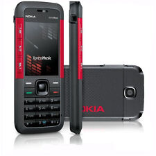 New Nokia XpressMusic 5310 Red Unlocked Camera Bluetooth Mobile Phone Bar Phones