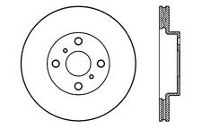 Disc Brake Rotor-High Performance Drilled And Slotted fits 07-08 Toyota Yaris