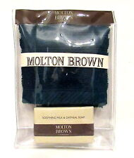 MOLTON BROWN SOOTHING OATMEAL  SOAP & FACE CLOTH, BAG GIFTSET  (S9A)