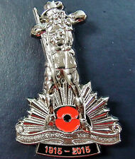 ANZAC WW1 100TH ANNIVERSARY SILVER* LIMITED EDITION* BADGE MEDAL - NUMBERED