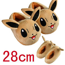 Anime Pokemon Eevee Plush Slipper House Slippers Cosplay Toy 1 pair