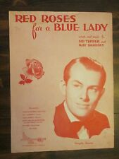 Red Roses for a Blue Lady Sheet Music Vaughn Monroe Cover