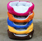 Large Waterproof Warm Soft Fleece Puppy Pet Dog Cat Bed House Basket Nest Mat