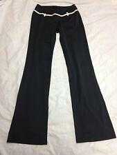 Women's 24 HOUR FITNESS Black WorkoutYoga/Gym Pants Size: Small