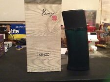 Men Kenzo Pour Homme 3.4oz 100 ml Eau de Toilette Spray Vintage Original Classic