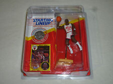 NEW STARTING LINEUP AIR JORDAN CARDED FIGURE W COLLECTOR COIN KENNER 1991 NOC 23