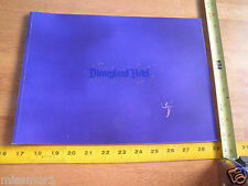 Disneyland Hotel tourist guidebook 1990's rooms color pictures NICE~
