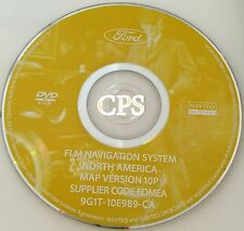 10P 2007 2008 Lincoln MKX MKZ / Navigator L / Mark LT NAVIGATION DVD MAP UPDATE