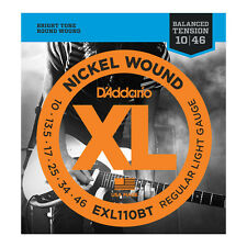 D'Addario EXL-110BT Balanced Tension Electric Guitar Strings reg light 10-46