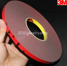 10mm x 33m Automotive Acrylic 3M Double Sided Foam Tape For Auto Truck Car Stick