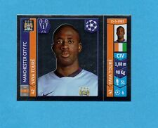 PANINI-CHAMPIONS 2014-2015-Figurina n.369- YAYA TOURE -MANCHESTER CITY-NEW BLACK