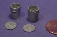O/On3/On30 WISEMAN MODEL SERVICES DETAIL PARTS: #O201 SMALL TRASH CANS W LID