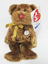 "Ty Beanie Baby ""Turkey"" the World Cup Champion Bear, Brand New w/Mint Tags"