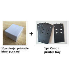 Plastic PVC ID card Inkjet printer tray for Canon PIXMA IP4600 IP4700 MG5220