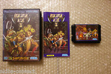 "Golden Axe II ""Good Condition"" Sega Megadrive Import Japan"