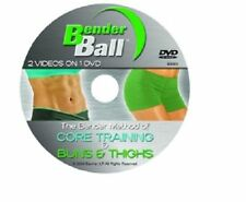 BenderBall DVD Soft Exercise Gym Fitness Pilates Yoga Abs Body Core (No Ball)
