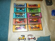 12 Matchbox VINTAGE Models Of Yesteryear