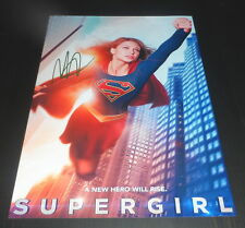 "SUPERGIRL PP SIGNED 12""X8"" A4 PHOTO POSTER MELISSA BENOIST"
