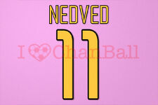 Nedved #11 2003-2004 Juventus Homekit Nameset Printing