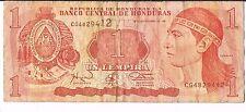 HONDURAS BANKNOTE 1 P79A  1994 F