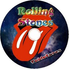 ROLLING STONES BASS & GUITAR TABS TABLATURE SOFTWARE CD BEST OF GREATEST ROCK