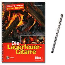 Die Lagerfeuer-Gitarre - Gitarre lernen ohne Noten / CD,MusikBleistift - DUX897