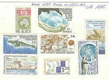 TIMBRES TAAF ANNEE 1991POSTE  N° 155 A 62  ** COTE 16,95