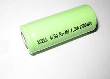 Xcell batería 4/5a 1,2v/2200mah 4/5 a ni-mh industria-, artesanía 134057